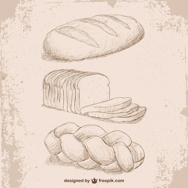 еще картинки карандашом хлеб как нарисовать овощи