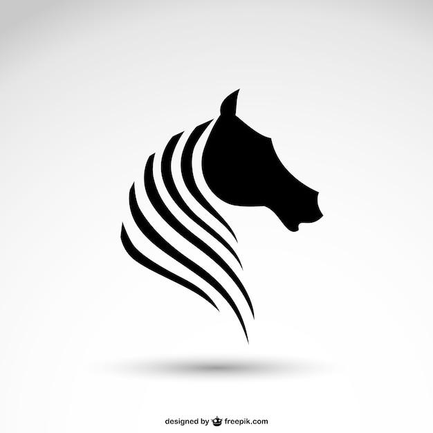 馬のロゴ 無料ベクター