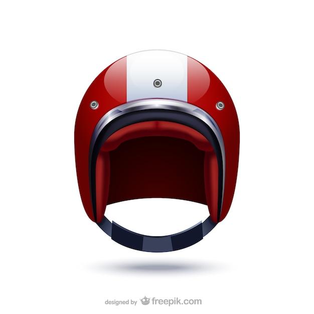 スポーツヘルメットのイラスト 無料ベクター