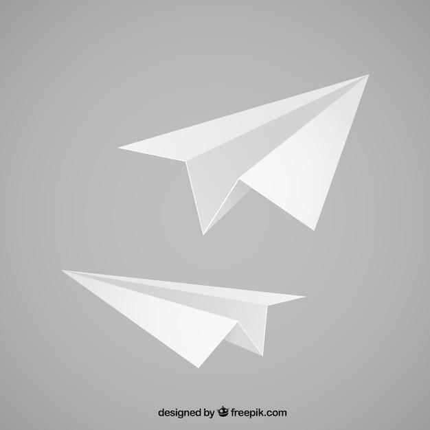 紙飛行機のイラスト ベクター画像 無料ダウンロード