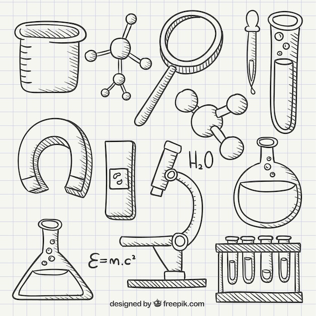 Картинка химический карандашом как
