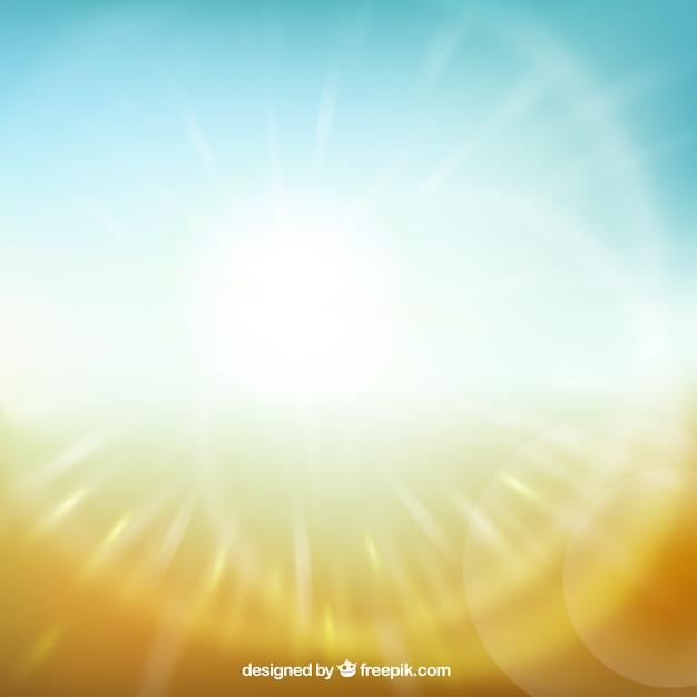 日光の背景 無料ベクター