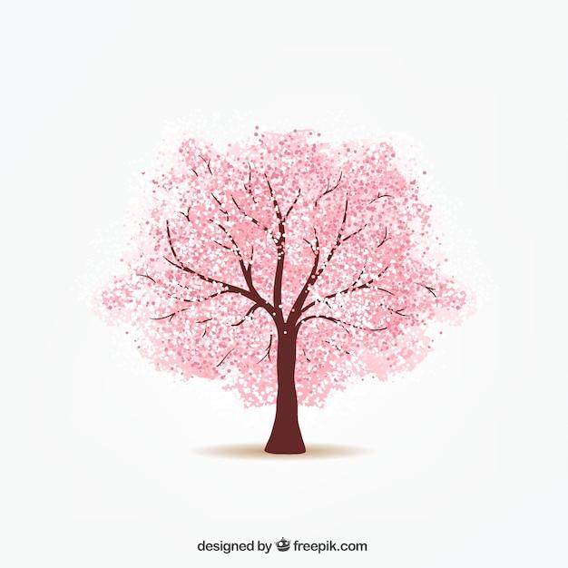 Вишневое дерево Бесплатные векторы