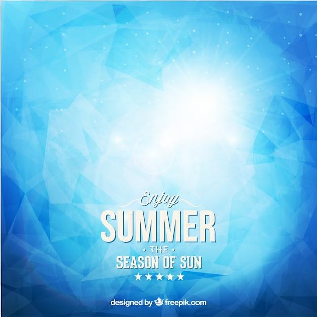 抽象的な夏の背景 無料ベクター