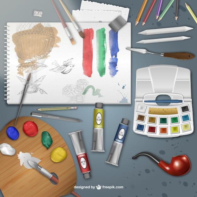 картинки для художника предметы для рисования голосовую