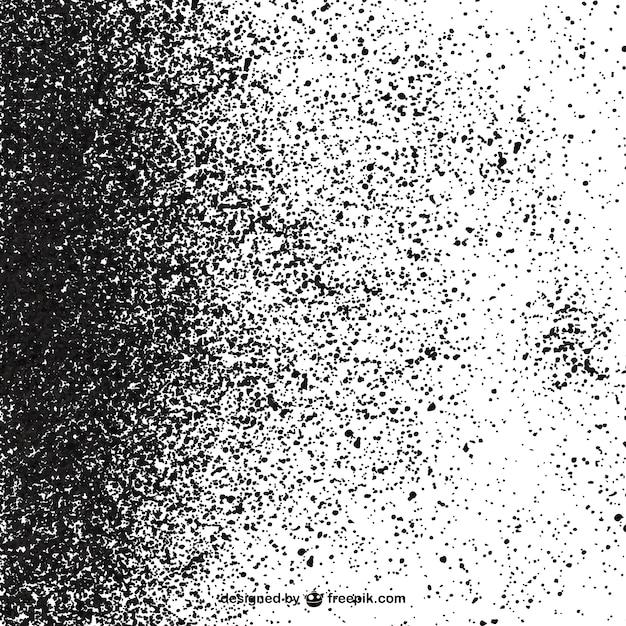 白い背景に黒い斑点 無料ベクター