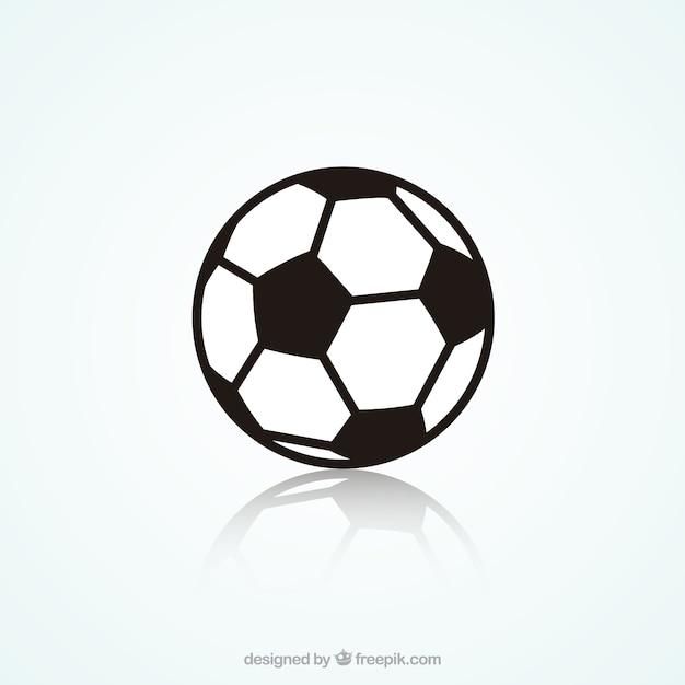 サッカーボール 無料ベクター