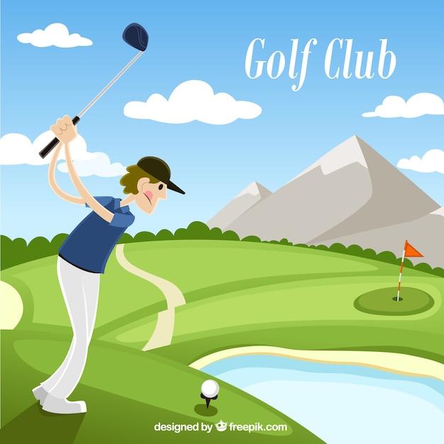ゴルフクラブイラスト ベクター画像 無料ダウンロード