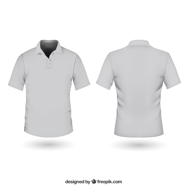 ポロシャツ 無料ベクター