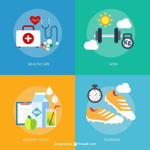 элементы здорового образа жизни