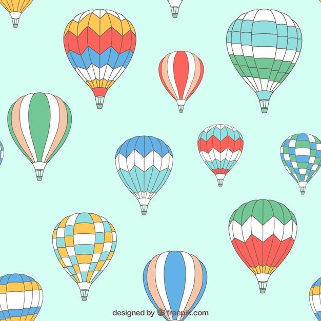 Горячая модель воздушные шарики Бесплатные векторы
