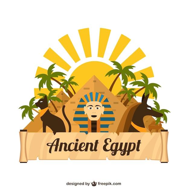 古代エジプト 無料ベクター