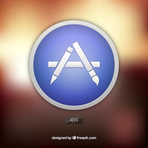 アプリストアのアイコン 無料ベクター