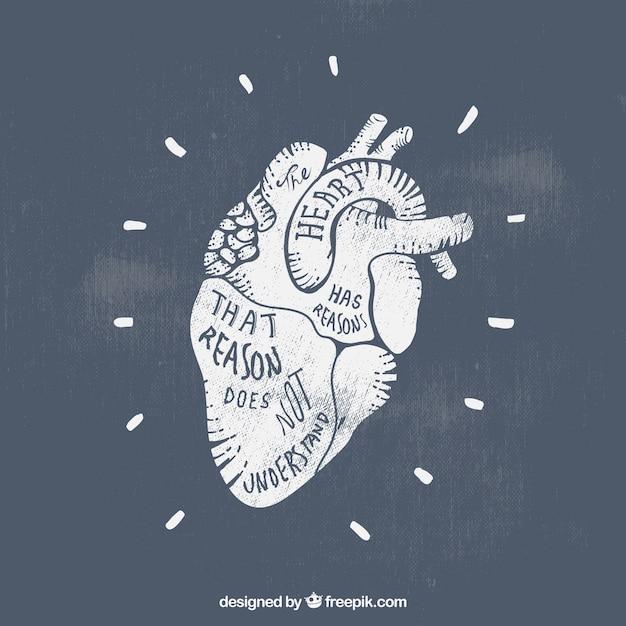 Штампованные сердце Бесплатные векторы