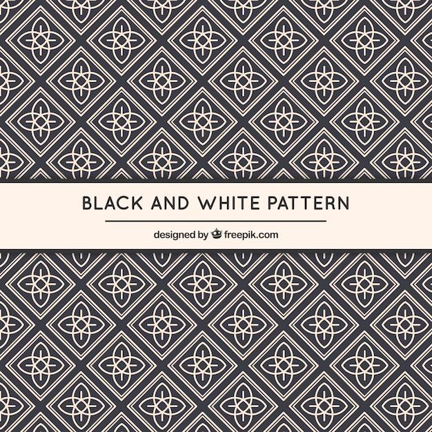 幾何学的な装飾用のパターン 無料ベクター