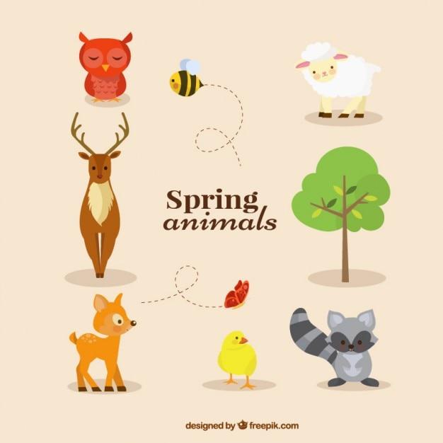 Картинки о зверях весной