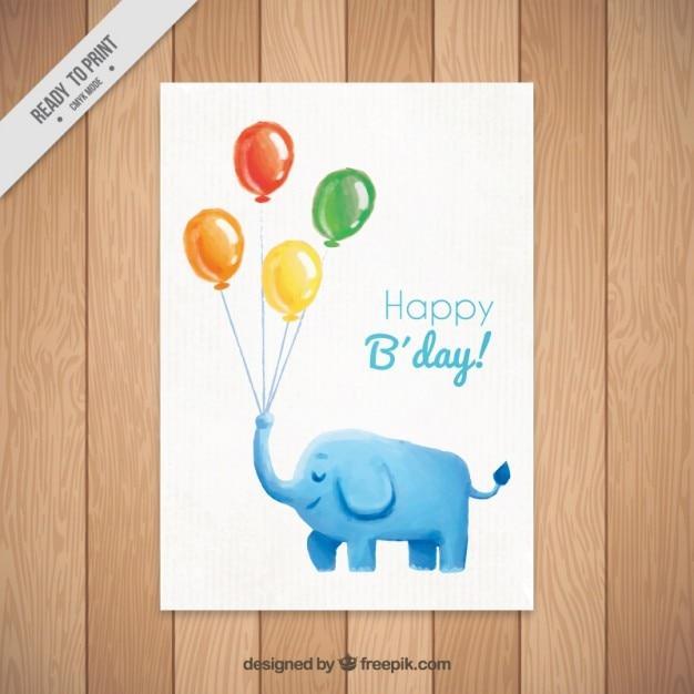Картинки, открытки акварелью с днем рождения папе