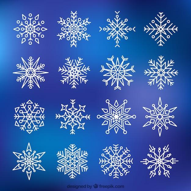 Виды снежинок с картинками