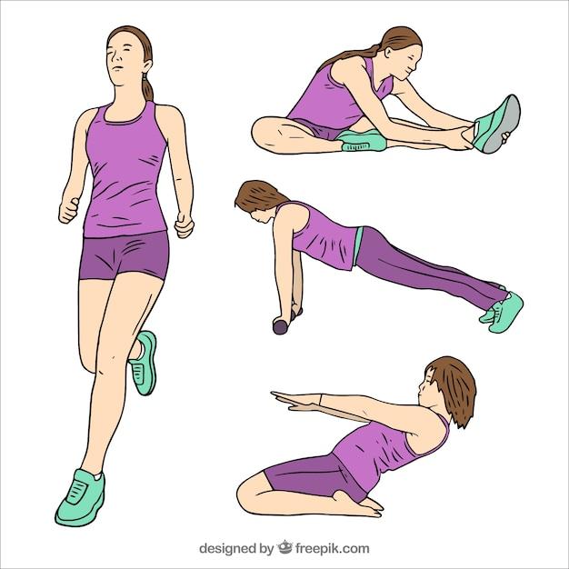 Изображения упражнений картинки собрание