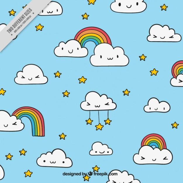 Картинки смешные облака