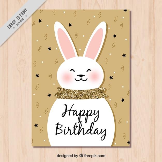 Пафосные, картинки день рождения кролики