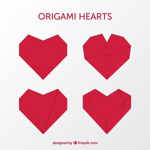 Как сделать сердечко оригами открытка