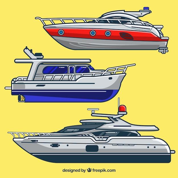 ヨット 無料ベクター