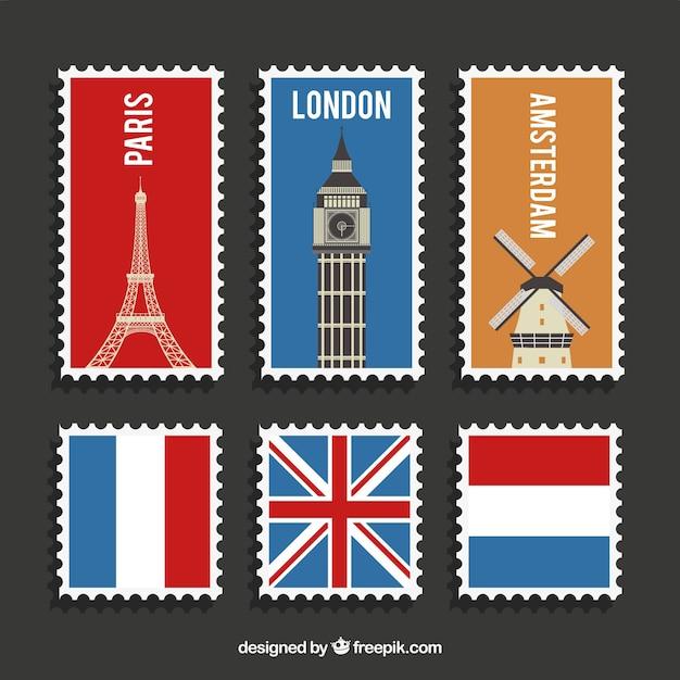 открытки на английском из разных странах котором будут