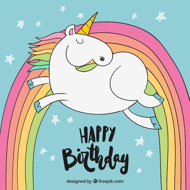 открытки с днем рождения единорог пела школьном