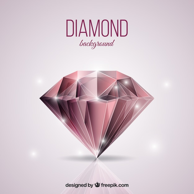 Блестящий алмазный фон Бесплатные векторы