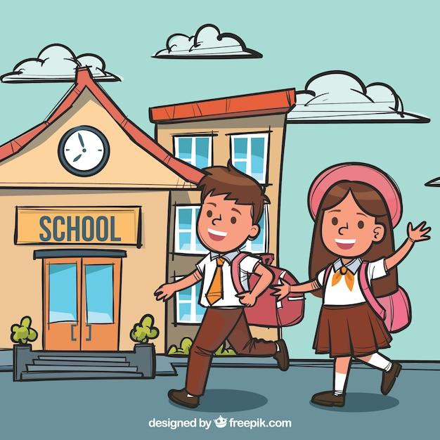 Рисунки о школе картинки