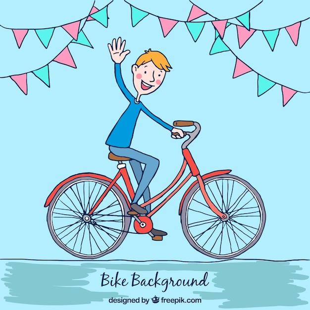 Теннисные картинки, картинки с велосипедистами нарисованные