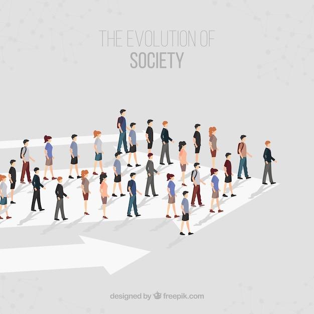 Направление общества Бесплатные векторы