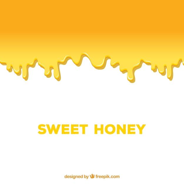 Сладкий мед капает Бесплатные векторы