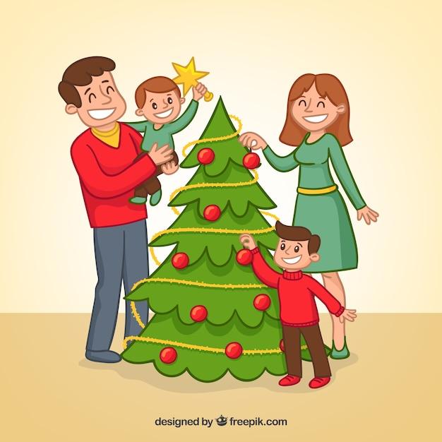 Наряжаем елку картинки нарисованные, днем рождения ребенку