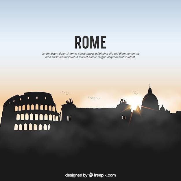 Римский горизонт Бесплатные векторы