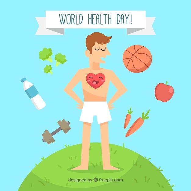 Что, всемирный день здоровья картинки прикольные