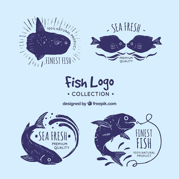 Коллекция логотипов для логотипов компаний Бесплатные векторы