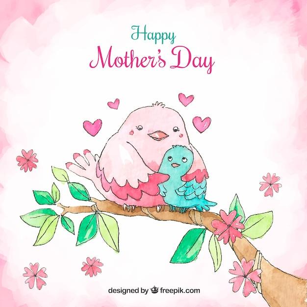 С днем матери открытки милые