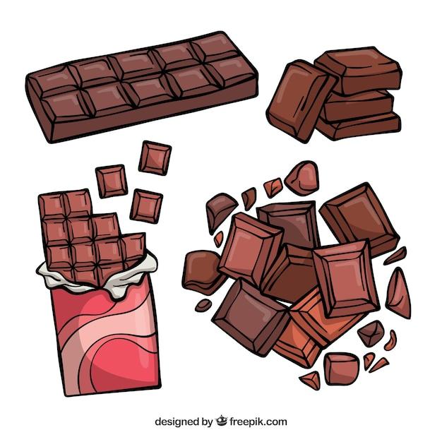съемка рисунок шоколадки только при помощи