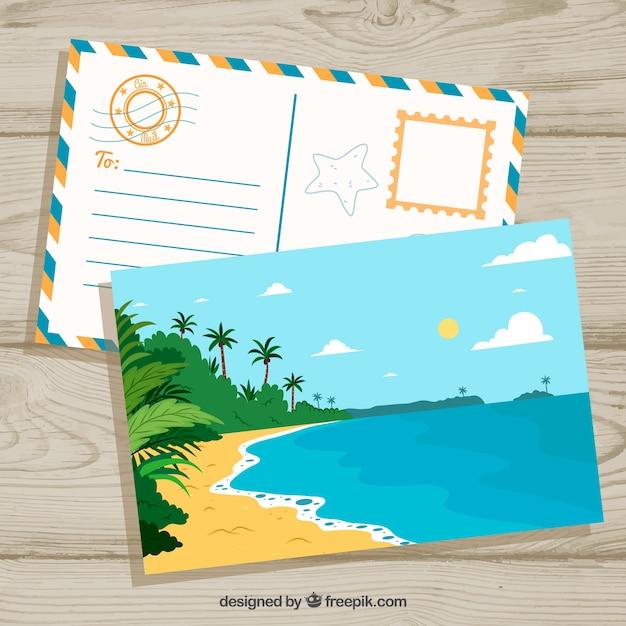 как отправляют открытки из путешествий интересно