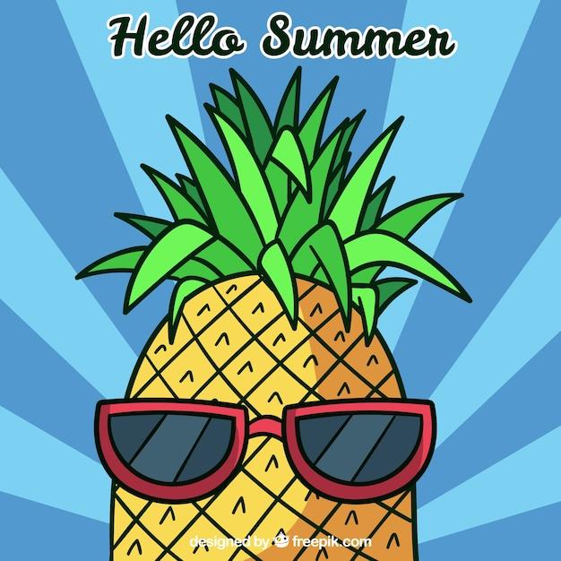 Картинках, картинки с ананасом смешные
