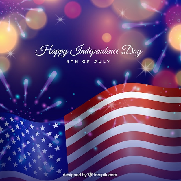 Первоклассник, открытка ко дню независимости америки