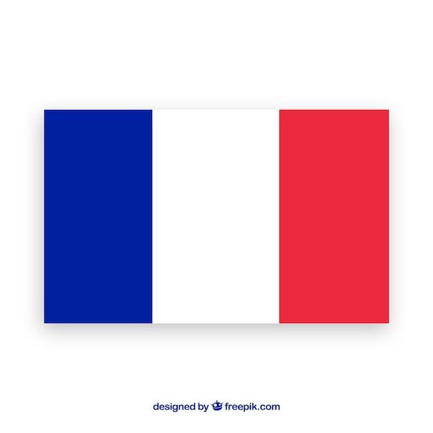 フランスの背景の国旗 ベクター画像 無料ダウンロード
