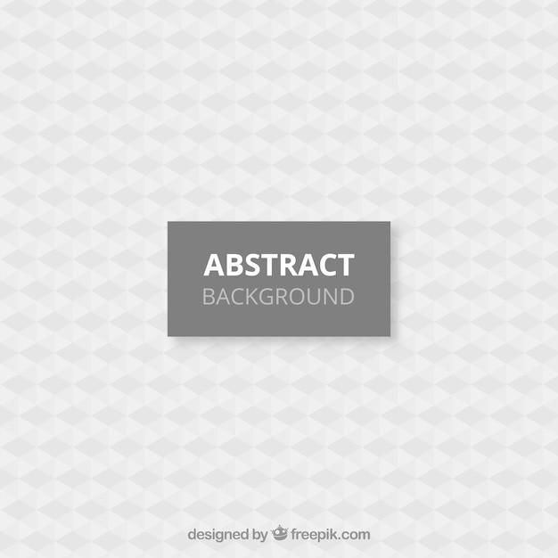 抽象的なデザインの白い背景 無料ベクター