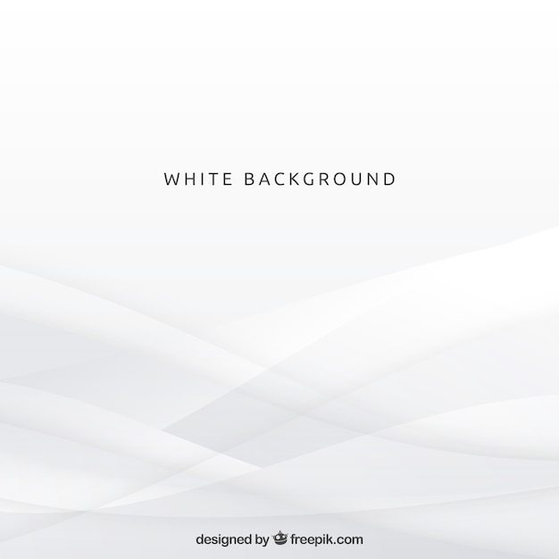 白い形の背景 無料ベクター