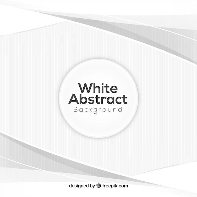 Белый абстрактный фон с элегантным стилем Бесплатные векторы