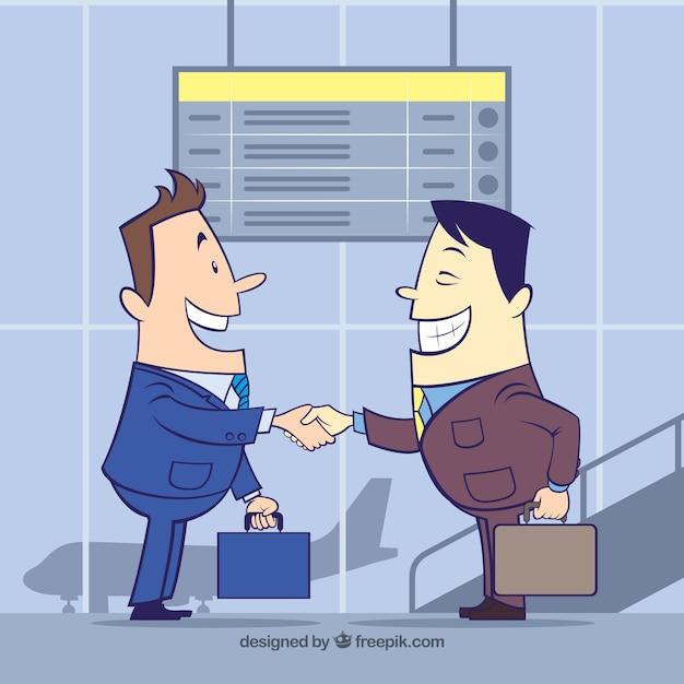 Командная концепция бизнес-концепции Бесплатные векторы