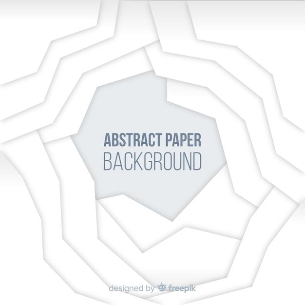 抽象的な紙の背景 無料ベクター