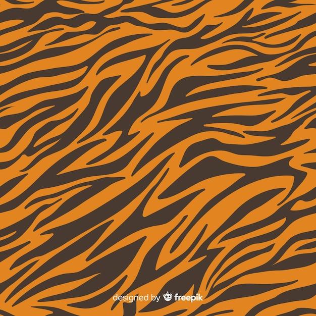 Тигровая полоса Бесплатные векторы
